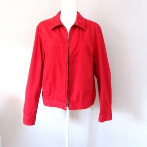 Jones New York Sport Red Jacket